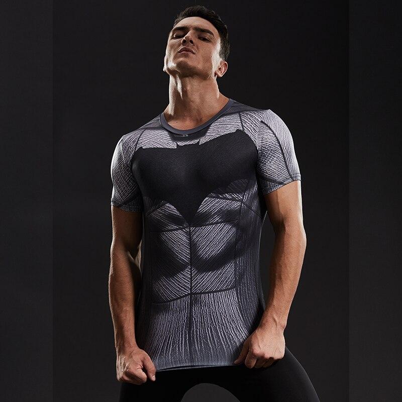 e94b1102034ce Batman VS Superman camiseta 3D impreso camisetas hombres de manga corta  nuevo disfraz Cosplay ropa Tops disfraces de Halloween para hombre en  Camisetas de ...
