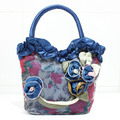 2016 новый продуктовый торговый женщины сумка женский досуг мешочек модные ткани, кружева сумочка