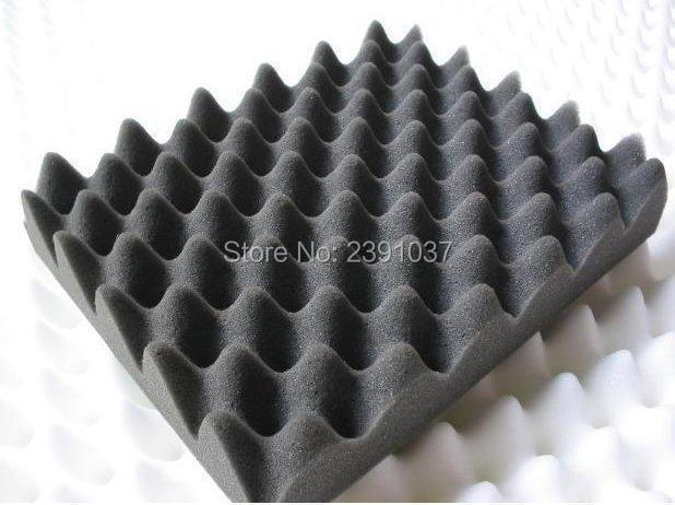 Mousse d'oeuf noir 2 pièces grande taille 200*100*3 cm mousse acoustique blanche mousse insonorisée/panneau acoustique acoustique studio mousse de haute qualité