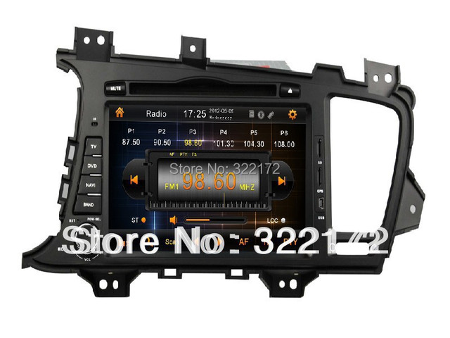 Car Radio Audio DVD Player GPS For KIA K5 OPTIMA 2011~2012 Free Shipping
