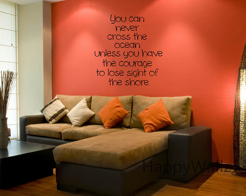 Inspirational Wall Art For Office - Custom vinyl wall decals sayings for office