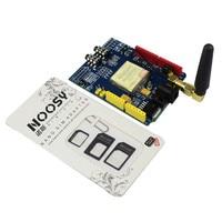 SIM900 GPRS GSM Shield Development Board With Antenna Tested World Wide Store GSM Shield Diy Kit