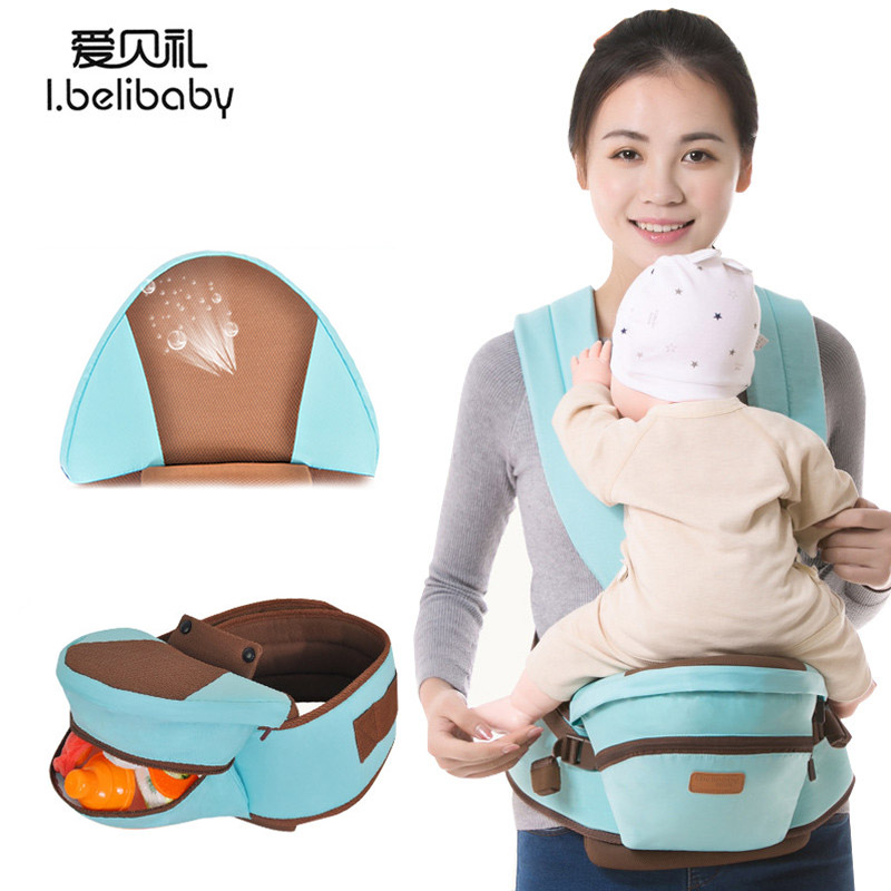 Bethbear Breathable Anti-skidding Baby Waist Stool Multi-Color