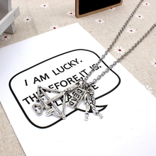XKXLHJ 2019 New Walking Dead Cross and DEAD, Zombie Pendant Fashion Jewelry Necklace new fashion necklace walking dead meat stick and letter necklace pendant fashion jewelry collar necklace