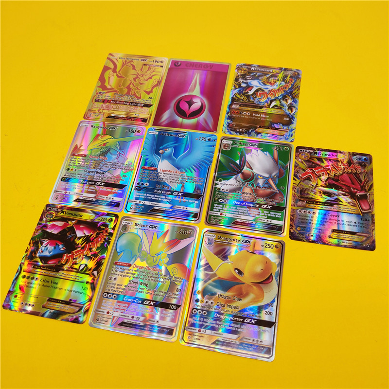 TEAM UP Booster Box English EX GX MEGA Cards Toys Shining For Game Battle Carte Trading Energy Charizard Mewtwo Collection Card(China)
