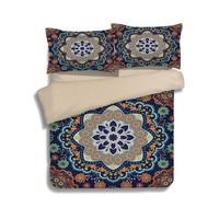 Home Textile Bohe Bedding Set Mandala Flower Duvet Cover Set Elephant Camel Bed Sheet Folk Custom
