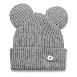 3 цвета зима оснастки ювелирные изделия вязаная шапка подходит мм 18 мм GingerSnaps Jewelry NN-699