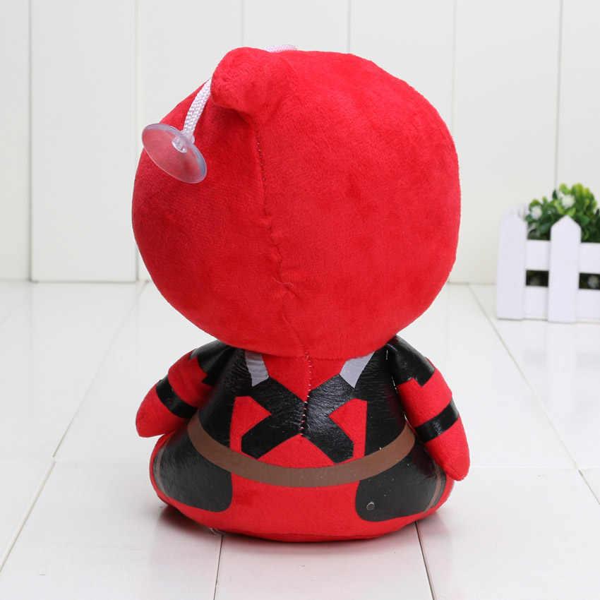 18 CM Filme Deadpool Spiderman Boneca de Brinquedo de Pelúcia Bonecas de Brinquedo Crianças Brinquedos de Presente