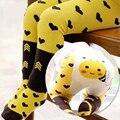 2 UNIDS Pantalones Conjunto de la Historieta Grande PP Pantalones Del Bebé Lindo Bebé de Algodón Pantalones Pantalones de Niño Calcetines Trajes Animales Niños Niñas Leggings