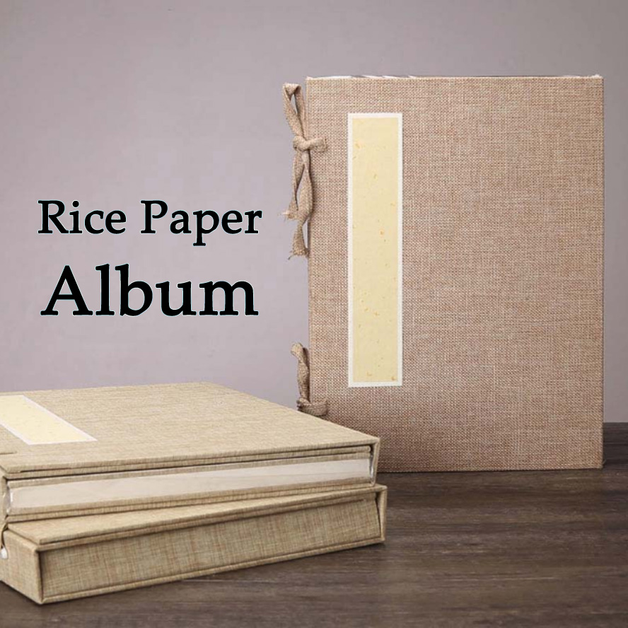 Traditional Chinese Album of Painting Calligraphy Page Book Blinding Notebook 4 pcs set traditional linen chinese album of painting calligraphy page notebook page 9