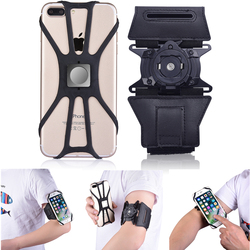 Universal braçadeira de telefone braço clipe caso para iphone xs max corrida ao ar livre esporte aranha casos para samsung s10 plus huawei p30 pro
