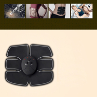 Smart EMS Electric Pulse Treatment Body Massager Wireless Abdominal Muscle Trainer Sports Fitness Muscle Stimulator Massage
