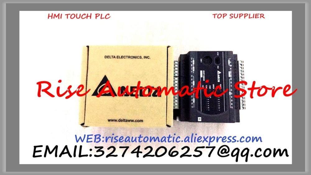 New Original Programmable Controller ES2 series PLC Module 16-point 8DI 8DO Relay AC power DVP16ES200R 100-240VAC new original programmable logic controller fx2n 32mr es ul fx2n 32mr d plc main unit di 16 do 16 relay dc 24v