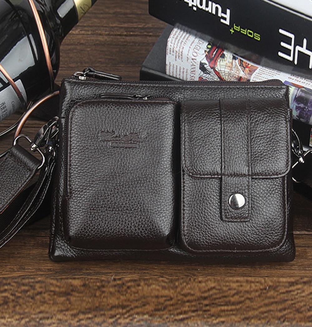 homens primeira camada de couro Estilo : Messenger/shoulderwaist/belt/clutch/tote/hand Bag
