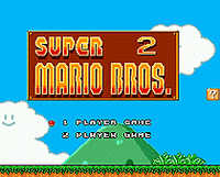 Super Mari Bros. 2 16 bit SEGA MD Game Card Für Sega Mega Drive Für Genesis