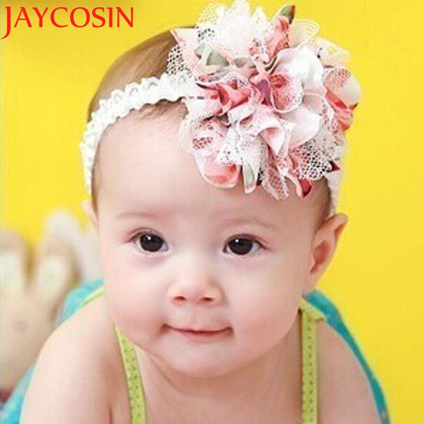 2017 1PC Multicolor Flower Elastic Headbands girl hair accessories headband cute hair band newborn floral headband WJul26 цены онлайн