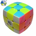 Zhisheng(Yuxin) Kylin 3x3x3 Bread Cube Pillowed Cube Stickerless Speed Puzzle - Colorful