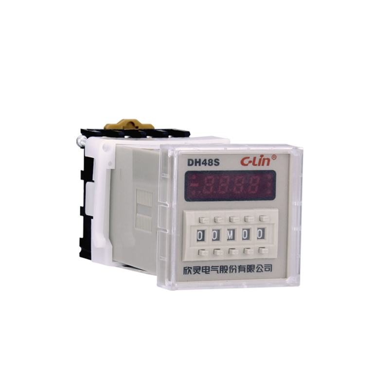Relay DH48S Number Show Time Relay Electricity Time Delay Timer Generation JSS48A-1Z JS48S 220V hhs6a correct time countdown intelligence number show time relay bring power failure memory ac220v