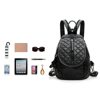 Lady Women Fashion Rivets Small Casual Backpack Travel Shoulder Bag Daypack