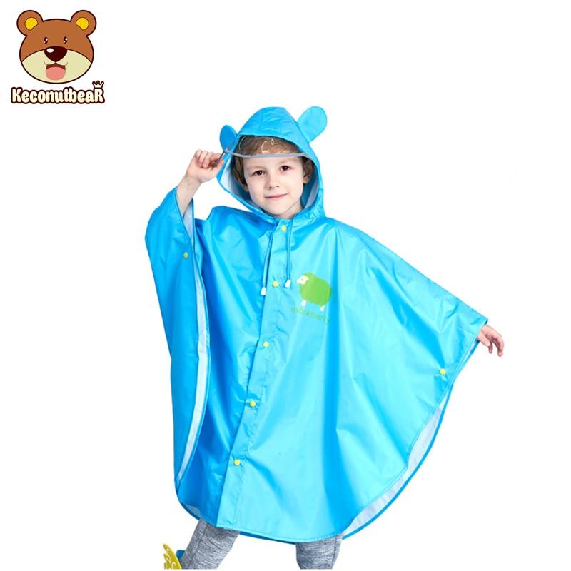 Crianças Poncho Capa De Chuva Infantil Bonito À Prova D' Água Japão Crianças Poncho Capa de Chuva casaco Impermeáveis Com Capuz jaqueta Impermeável