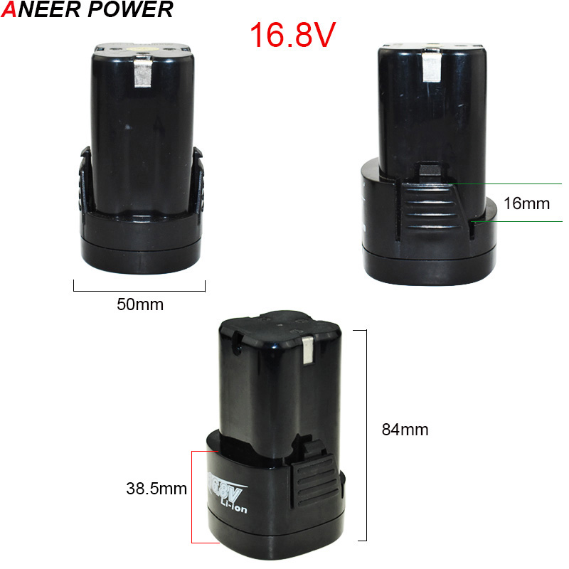 Image 3 - 25V 21V 16.8V 12V Lithium Battery Li ion Battery Power Tools Rechargeable Drill For Cordless Screwdriver Battery Electric Drillrechargeable drillpower toolspower screwdriver drill -