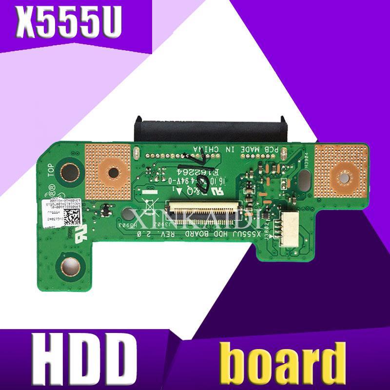 XinKaidi  Original For Asus X555U X555UA A555U F555U K555U X555UJ Rev 2.0 HDD Board Hard Disk Drive Board 100% Tested Fast Ship