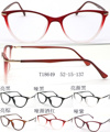 2016 new women's glasses frame eyeglasses cat eye TR90 optical frame clear glasses prescription eyewear color high quality 10pcs