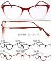 2016 nuevo de las mujeres vidrios del ojo de gato del marco óptico TR90 gafas claras anteojos recetados color de alta calidad 10 unids
