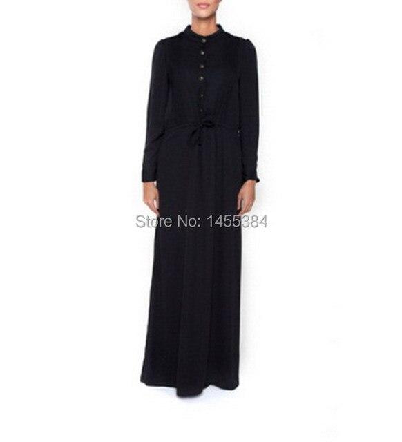 ABENDKLEID Lust Moslemisches Abaya Maxi Langes Islamische Kleid ...