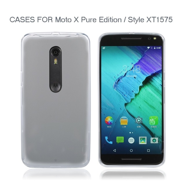 best loved 47c24 978ce US $9.99  New For Motorola Moto X Style XT1575 Mobile Phone Case Cover For  Moto X Pure Edition Cell Phone TPU Soft Protective Shell Cover on ...