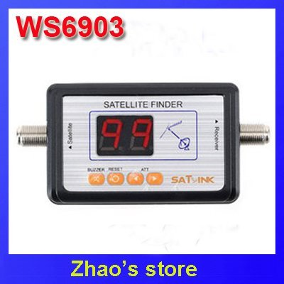 SATLINK WS6903 Satellite TV signal tracker finder meter Freeshipping