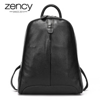 New 2014 Real Leather Women Backpack Daily Backpack Shoulder Bag Daily Backpack Free Shipping