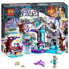 249pcs 2016 New Bela 10410 elves Nalda's Spa Secret Model Building Girls Fairy magical shower Toys Compatible With Lego