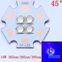 7V 14V 10W LG3535 Ultra Violet UV 365nm 380nm 395nm High Power Led Emitting Diode On