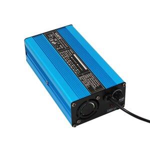 Image 5 - Carregador inteligente de bateria lifepo4 58.4v 4a, carregador inteligente para bateria 16s 48v lifepo4