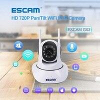 ESCAM 720P WiFi IP Camera ONVIF Wireless P2P Dual Antenna IR Home Security Cctv Video Monitor