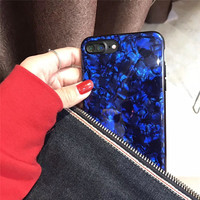 New Desgin Soft Silicone Diamond Shiny Printing Palace Mobile Phone Cases For iPhoneX 8 8Plus 6 6S 6Plus 7 7Plus Back Covers
