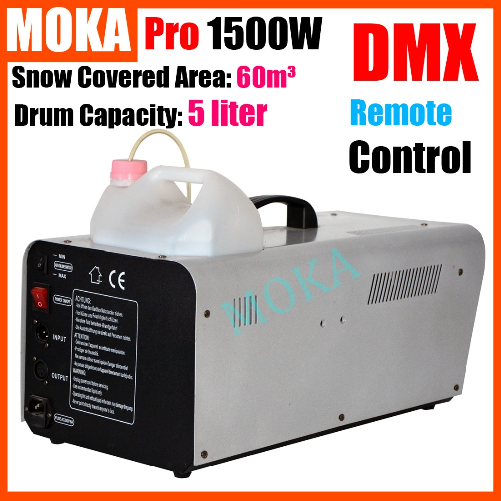 1500W christmas Snow Machine Stage DJ Effect Remote Control disco dj stage snow projector