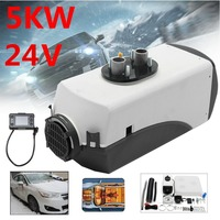 24V 5000W LCD Monitor Air Diesels Fuel Heater 5KW For Trucks Boats Bus Car