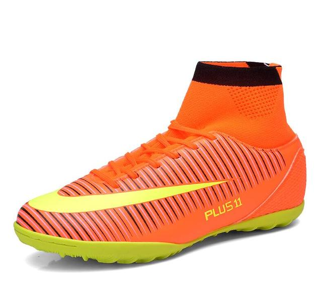Fly indoor futsal soccer boots sneakers men Cheap soccer cleats superfly  original football shoes ankle boots high top size 39-46 0ce278e636fd