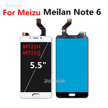 5.5 For Meizu M6 Note LCD Display with Touch Screen Digitizer Assembly Replacement For Meizu Meilan Note 6 LCD screen M6 Note 15 6 laptop touch screen digitizer replacement for hp envy m6 w011dx m6 w012dx