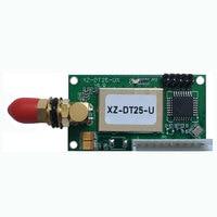 """vhf uhf משדר 433MHz מקלט אלחוטי 100mW UHF VHF RS485 RS232 הסידורי 1 ק""""מ 868mhz UART תקשורת נתונים אלחוטית (2)"""