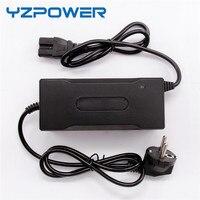 Yzpower dc 84 v 1a 1.5a 스마트 범용 리튬 배터리 충전기