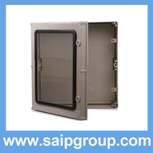 High Quality Factory Supply Clear Hinged Lid Plastic Box/Distribution Box SP-AT-605019