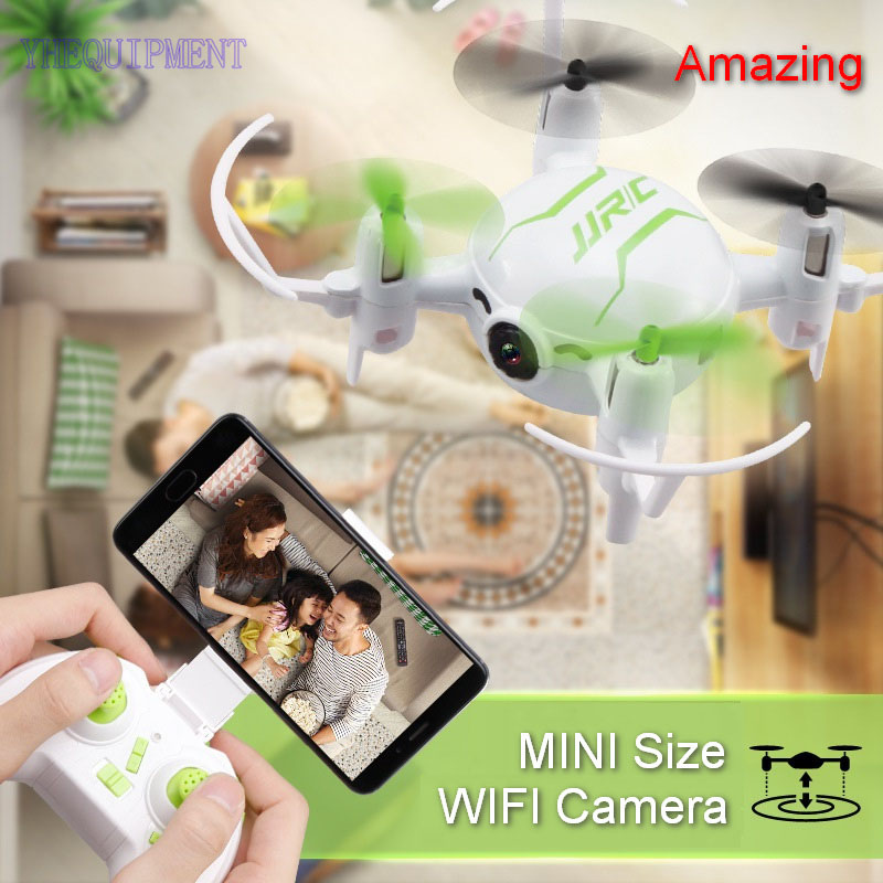 fun MINI JJRC H30WH RC Drone with 0.3MP WIFI Camera Altitude Hold Quadcopter remote control Dron toys for children