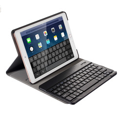 For iPad 9.7 2017 2018/Pro 9.7/iPad Air 1&2 Detachable Wireless Bluetooth Keyboard+Slim Smart Folio Stand PU Leather Case Cover