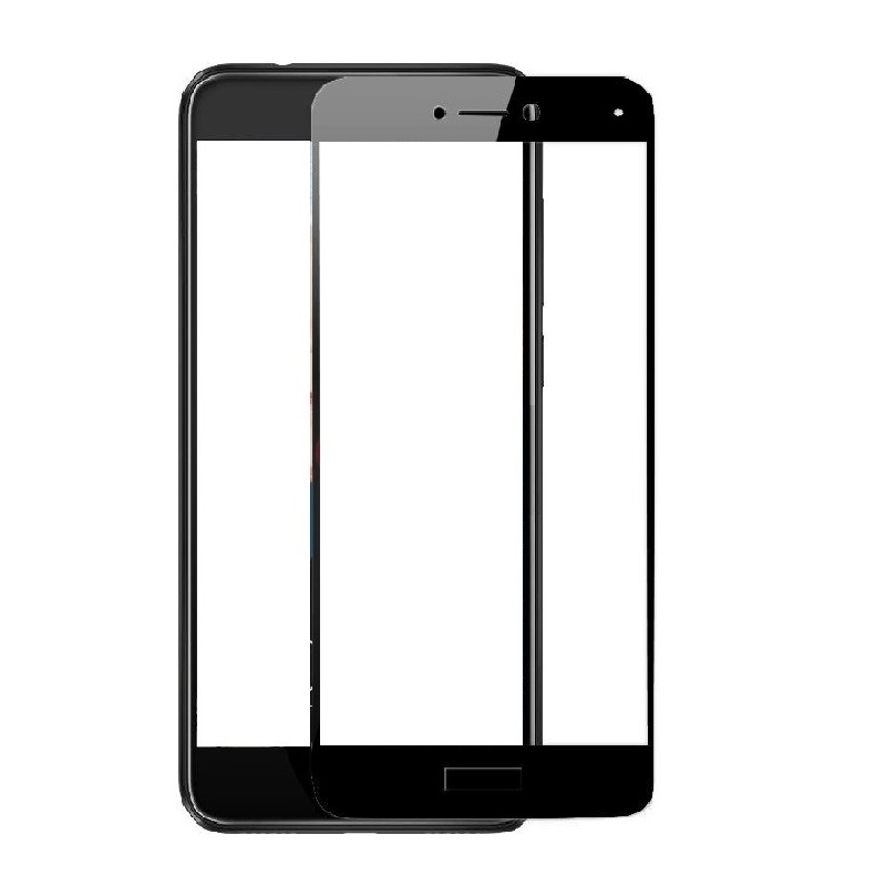 full cover Tempered Glass for huawei P8 lite 2017 p8lite P8lite2017 5 2 inch Screen Protective display case frame all edge blue in Phone Screen Protectors from Cellphones Telecommunications