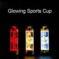 Night Cycling Running Water Bottle Lights Night Ride Lights Emergency lights Camping Lights Glowing Sports Cup 550ml High Qualit