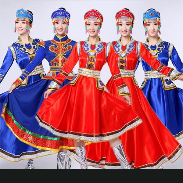 a69b0946b New Mongolian clothing Women s dress Inner Mongolia Dance dress ...