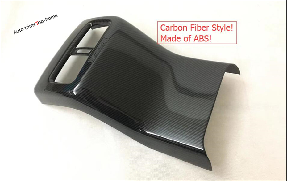 Interior For Mazda CX-5 CX5 2017 2018 ABS Rear Armrest Box Anti Kick Panel Decoration Stickers Cover Trim 2 Color For Choice abs carbon style decoration gear shift box panel cover trim car styling accessories for mazda cx 5 cx5 2nd gen 2017 2018
